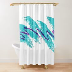 Solo Jazz - 90's cup design Shower Curtain