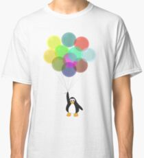 Penguin & Balloons Classic T-Shirt