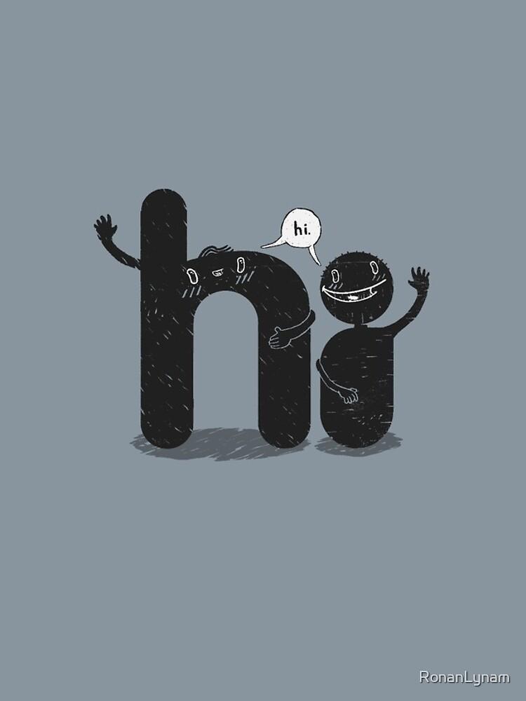 Simply Hi! by RonanLynam