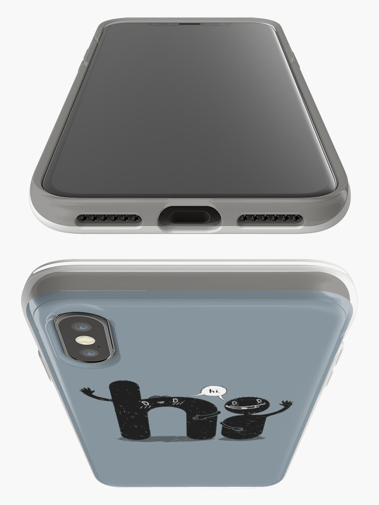 Alternate view of Simply Hi! iPhone Case & Cover