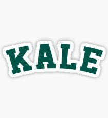 Kale University Funny Vegan Style Sticker