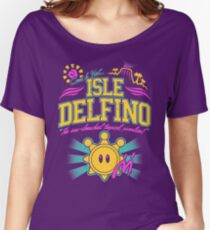 Isle Delfino Women's Relaxed Fit T-Shirt