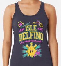 Insel Delfino Racerback Tank Top