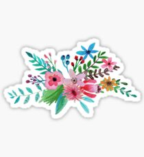 Watercolor Bouqet Sticker