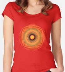 Central Sun Women's Fitted Scoop T-Shirt