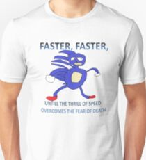 Sanic - Thrill of Speed Unisex T-Shirt