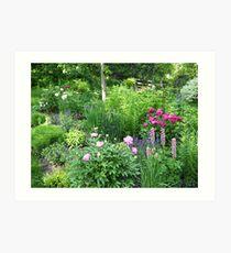 The June Garden Art Print