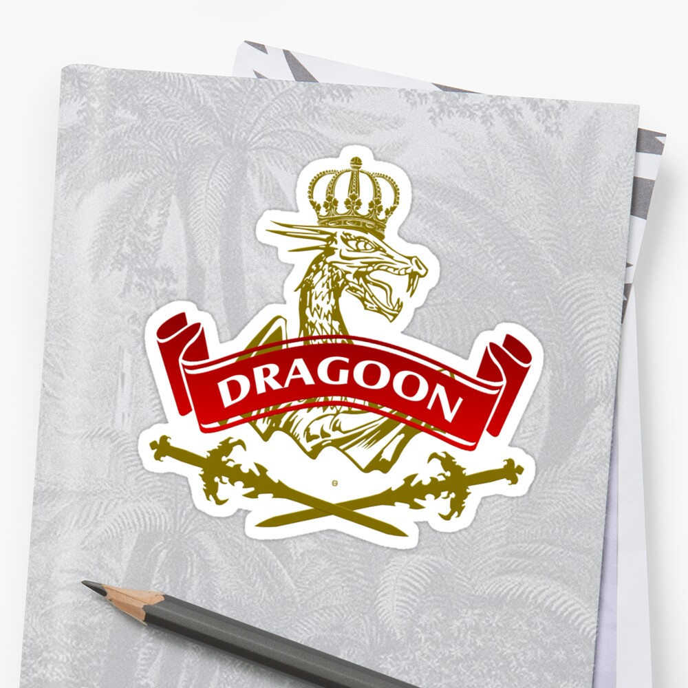 The Dragoon Coat-of-Arms by Vy Solomatenko