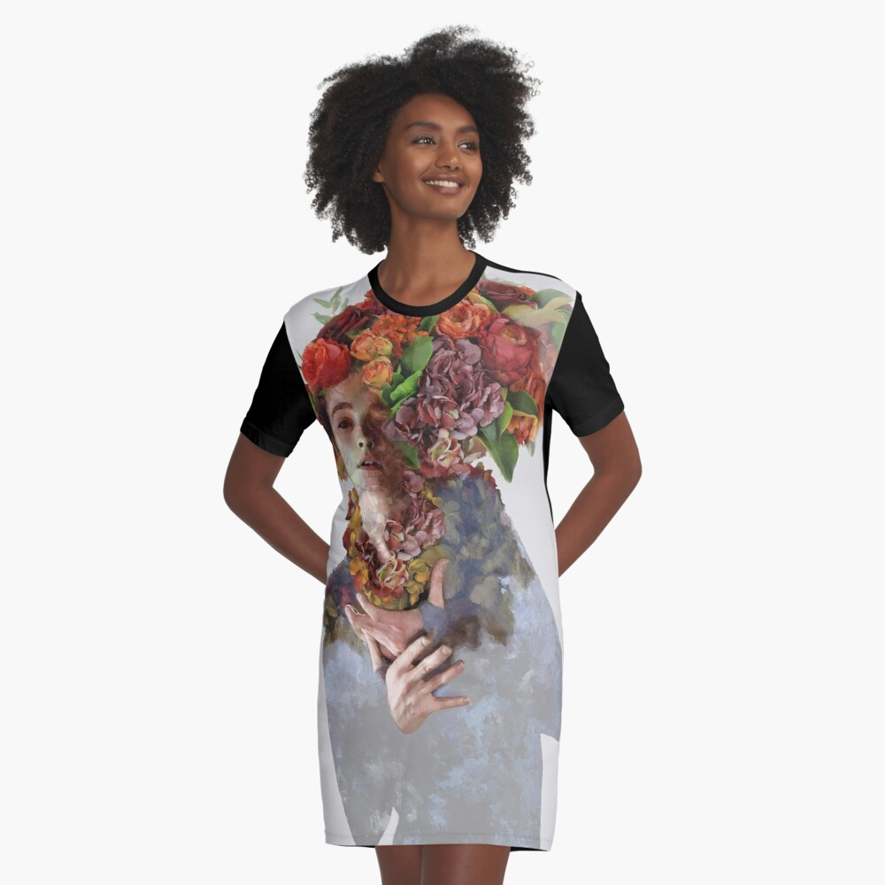 Persuasion Graphic T-Shirt Dress Front