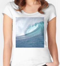 Waimea Bodyboarder Women's Fitted Scoop T-Shirt