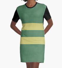 Broken Pixel - Fallen Chara Graphic T-Shirt Dress