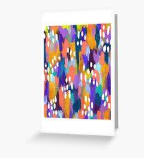 Jules - Abstract Greeting Card