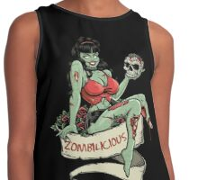 Zombilicious Zombie Girl Contrast Tank