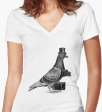 Tourist Women's Fitted V-Neck T-Shirt