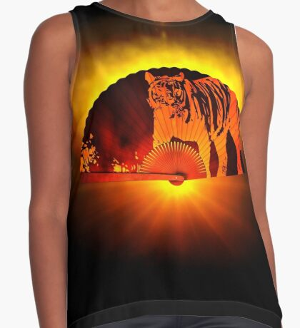 Asian subjects; Motive: Tiger Contrast Tank