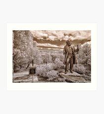 Olmsted at Arboretum Art Print
