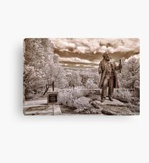 Olmsted at Arboretum Canvas Print