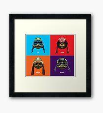 Ninja Mutant Teenage Turtles Framed Print