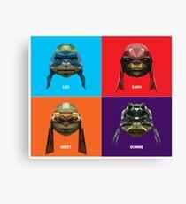 Ninja Mutant Teenage Turtles Canvas Print