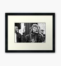 Rap Framed Print