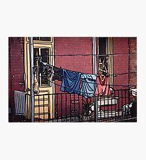 Clothes Line Photographic Print
