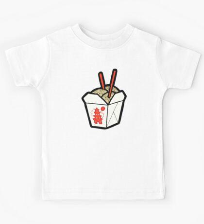 Take-Out Noodles Box Pattern Kids Clothes