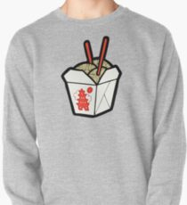 Take-Out Noodles Box Pattern Pullover