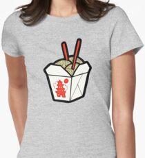 Take-Out Noodles Box Pattern T-Shirt