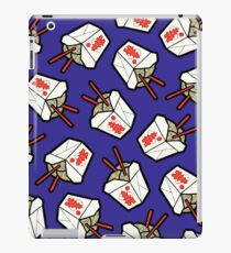 Take-Out Noodles Box Pattern iPad Case/Skin