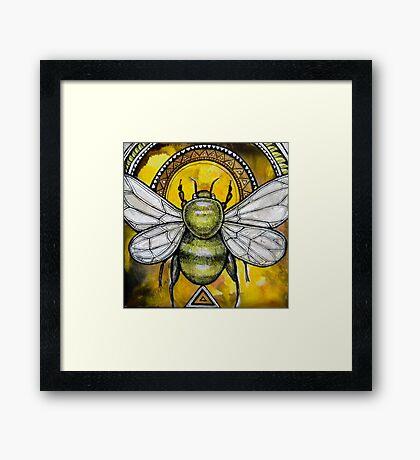 Bee Ascendant Framed Print