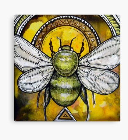 Bee Ascendant Canvas Print