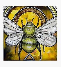 Bee Ascendant Photographic Print