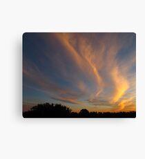 Cloud gravity Canvas Print