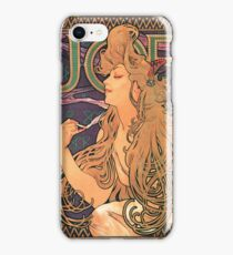 Vintage poster - JOB Cigarettes iPhone Case/Skin