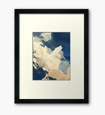 Lung Tien Lien—Evening Flight Framed Print