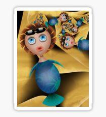 Inner Child - Plump Mermaids in the Sun Sticker