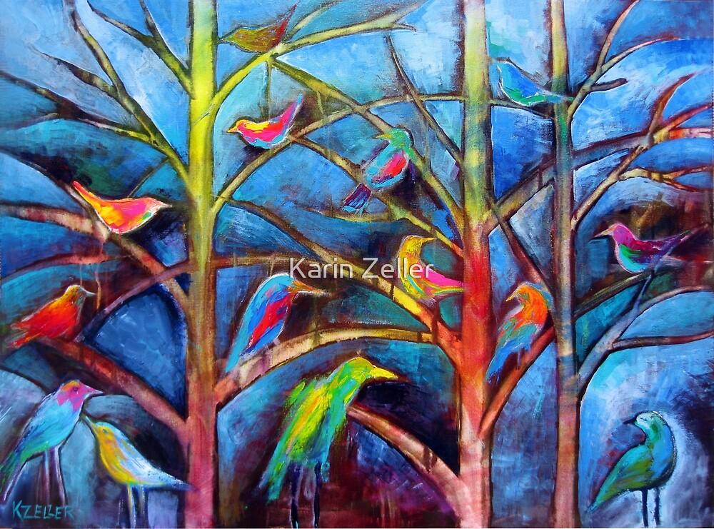 Birds of a Feather by Karin Zeller