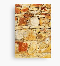 Stacked Stone Canvas Print