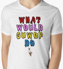 45d81b1fb What would guwop do V-Neck T-Shirt
