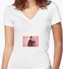 Honk Women's Fitted V-Neck T-Shirt