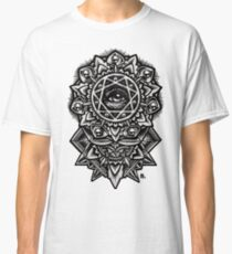 Eye of God Flower Mandala Classic T-Shirt