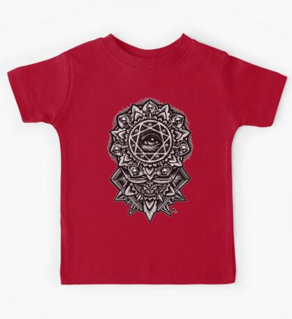 Eye of God Flower Mandala Kids Clothes
