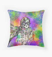 Color Bandit  Throw Pillow