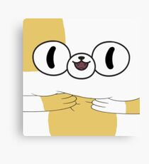 Adventure Time - Cake The Cat Canvas Print