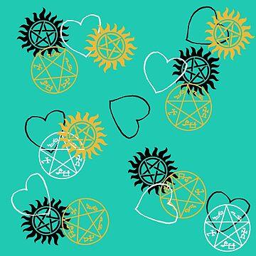 Peace, Love, and Devil's Traps by PrincessSchez