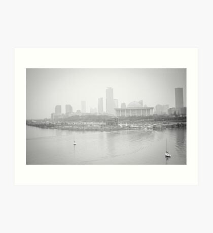 Foggy Afternoon Art Print
