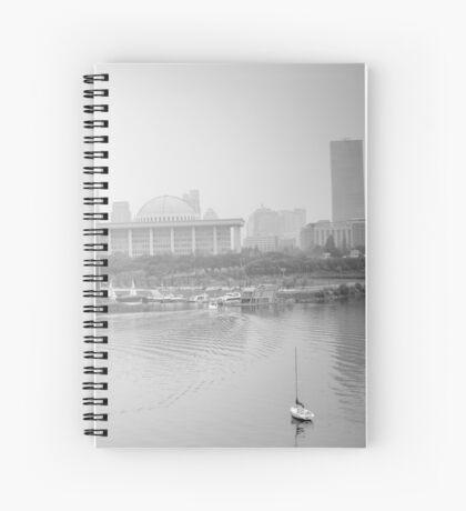 Foggy Afternoon Spiral Notebook