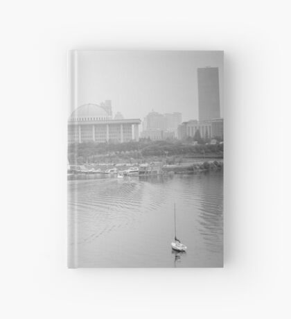 Foggy Afternoon Hardcover Journal