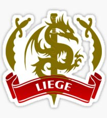 The Liege Coat-of-Arms Sticker