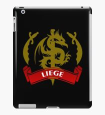 The Liege Coat-of-Arms iPad Case/Skin